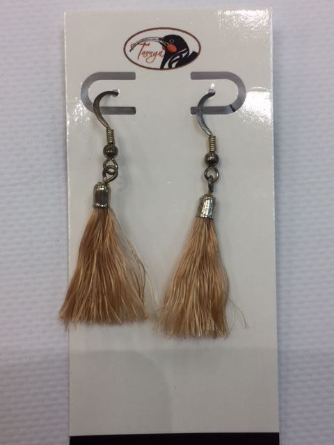 Muka Earrings, brown