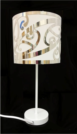 white maori design table lamp med lighting iti maori shop online