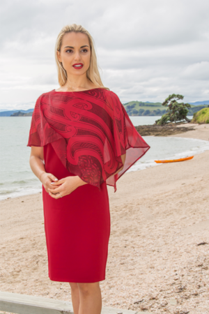 Nanaiore Red Evening Dress