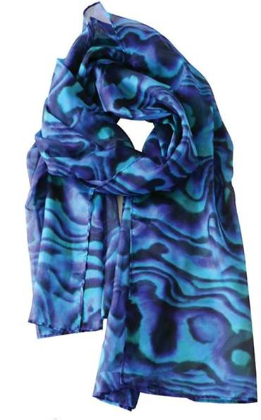 Sheer Paua scarf